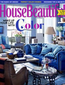 House Beautiful Magazine Tiffani Thiessen Edition