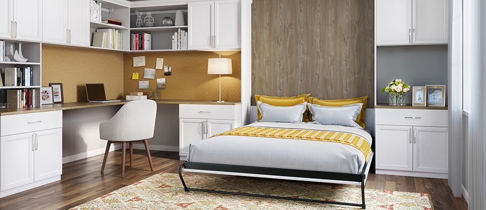 Modern wall beds custom built wall beds by california for California closets puerto rico