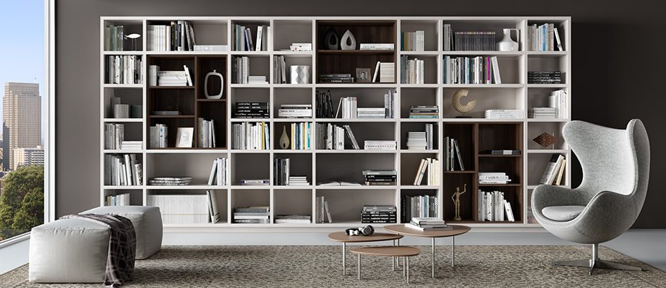 Find Storage And Artwork For Libraries At California Closets