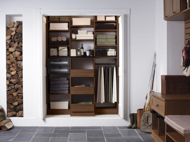 Get Linen Hall Closet solutions at California Closets