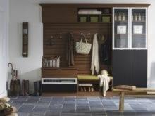 entryway closet system
