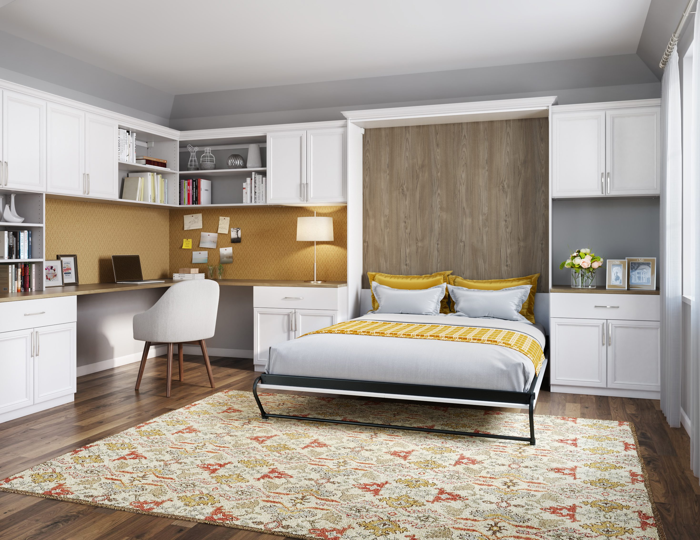 Picture of: Modern Wall Beds Custom Built Wall Beds By California Closets
