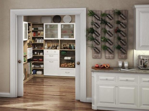 chef's pantry closet system