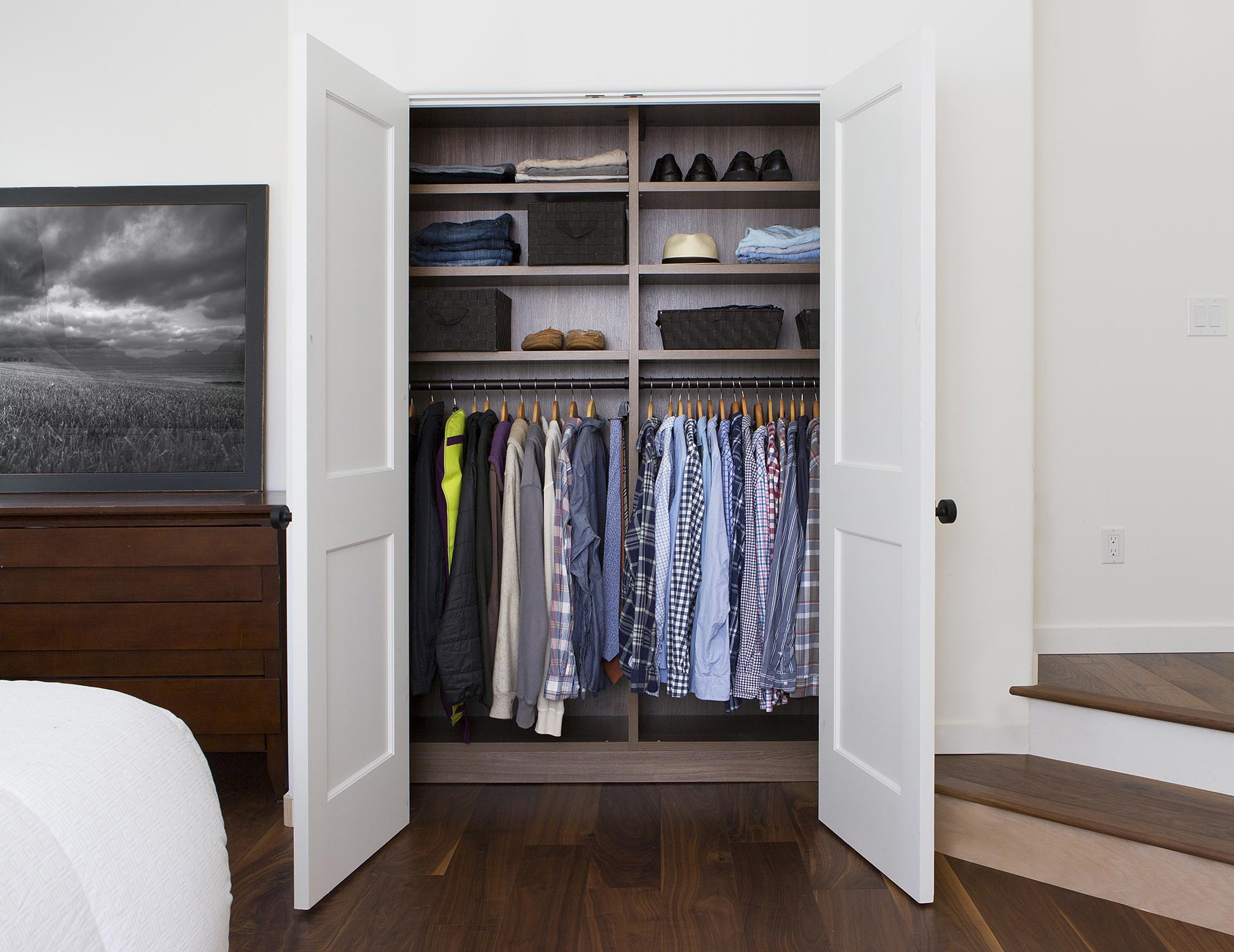 Reach In Closet Systems Reach In Closet Designs