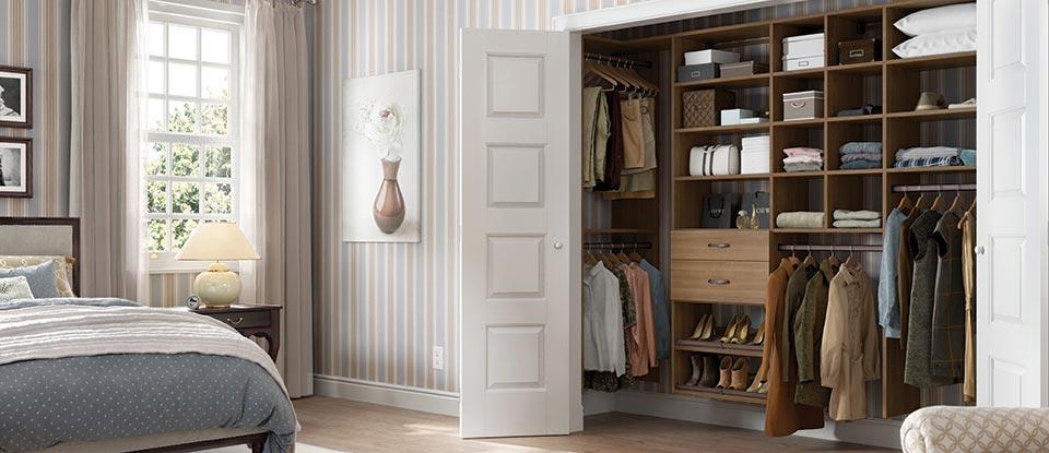 reach in closets - Reach In Closet Design Ideas