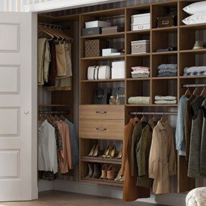Bedroom Closet Organization Storage Solutions by California Closets