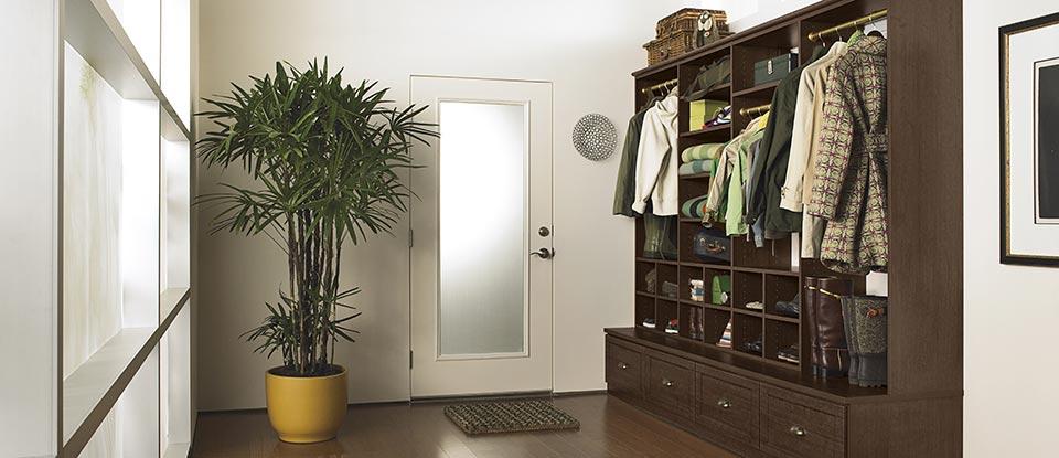 Foyer Mudroom Net Worth : Entryway storage organization solutions