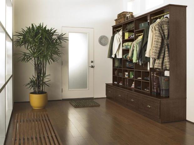 California Closets - Entryway Custom Storage Solutions