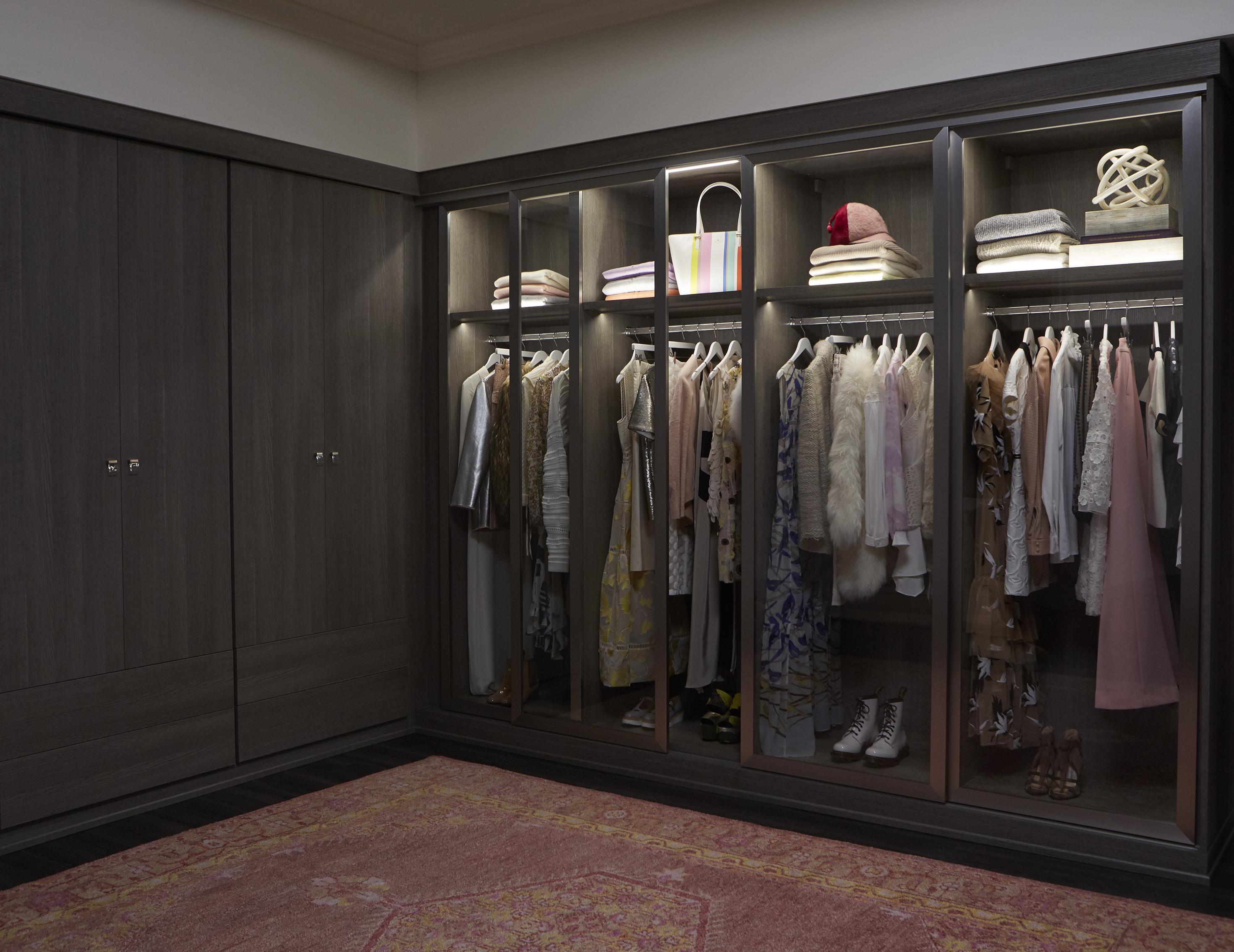 Armoire Comptoir De Famille armoire - garde-robes et rangement personnalisé - california