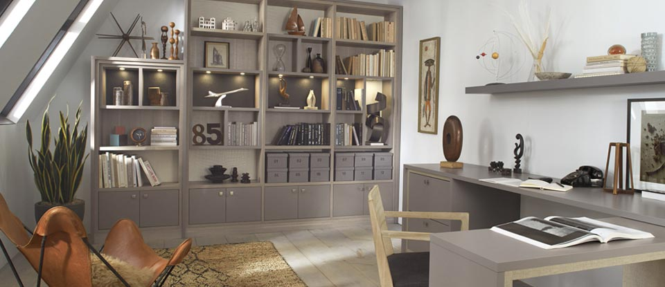 California Closets Boston - Unique Home Office Layouts that Increase Your Productivity