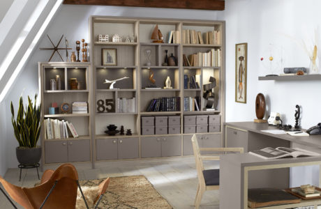 Custom Home Office Storage Options | California Closets