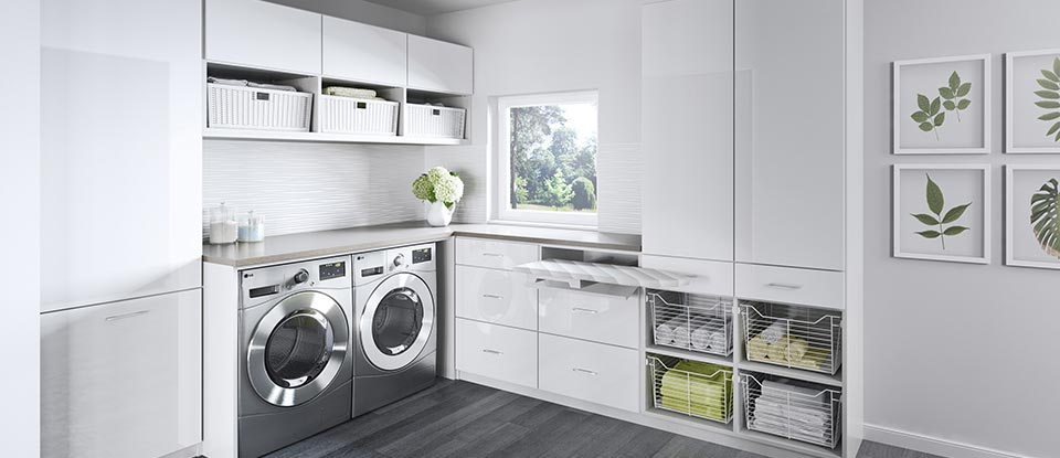 Find Laundry Storage Solutions From California Closets
