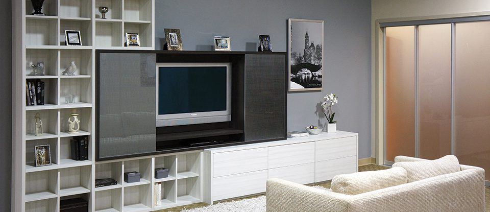 Get Entertainment Center Cabinetry From California Closets