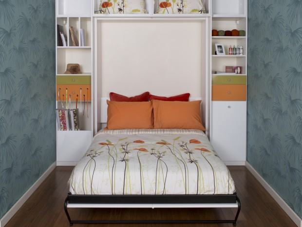 Murphy beds wall bed designs ideas by california closets for Creative murphy bed ideas
