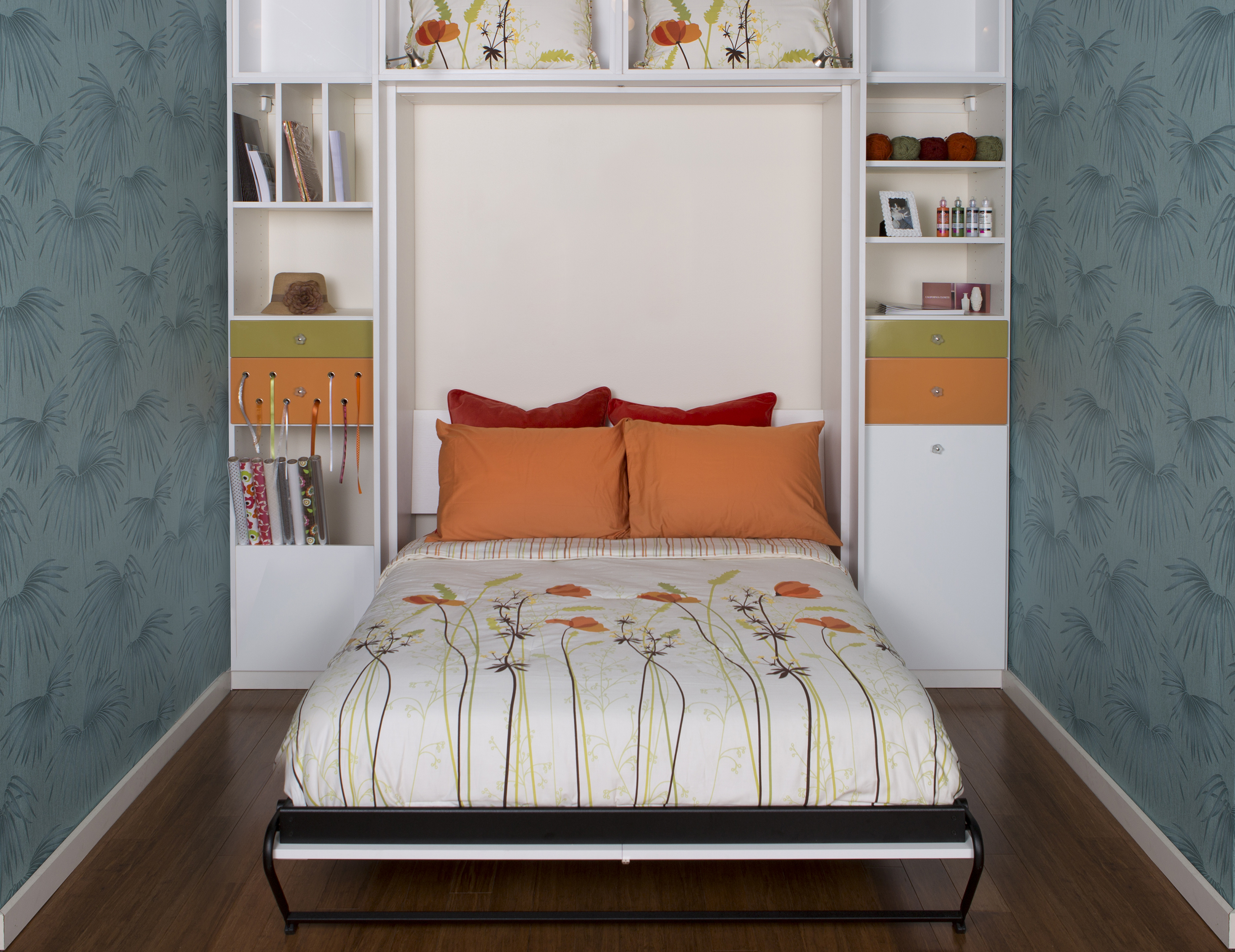 Modern Wall Beds Custom Built Wall Beds By California Closets