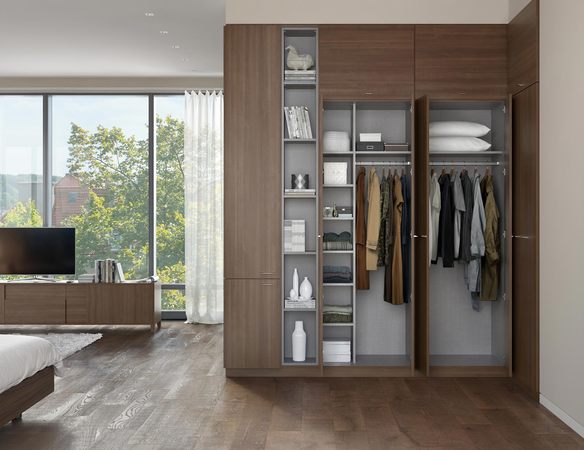 Custom Wardrobe Design Wardrobe Storage Systems