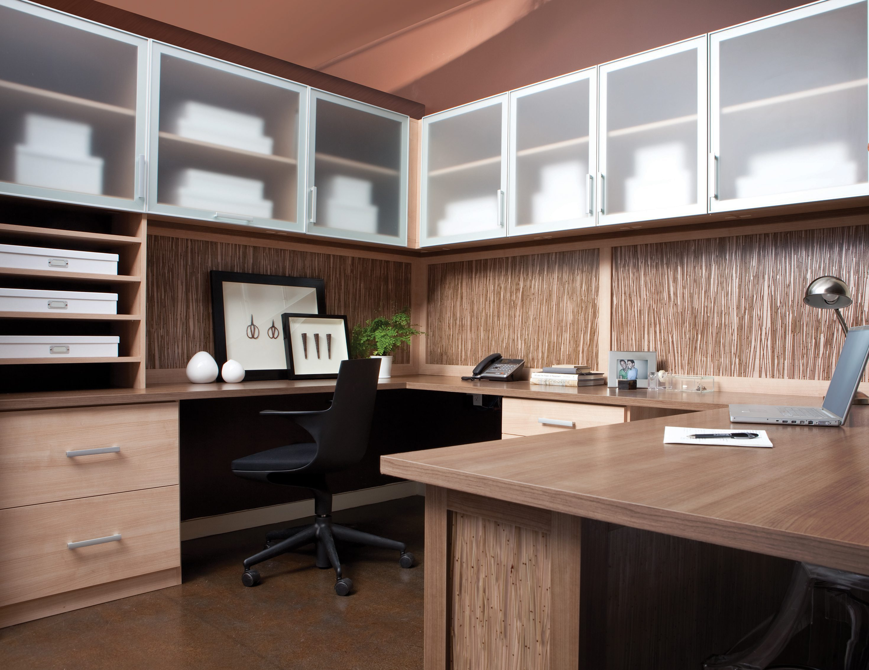 California Closets Vancouver   Custom Built Home Office