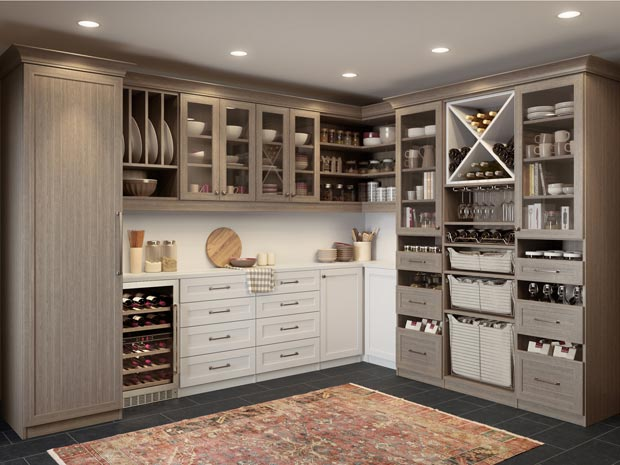 Kitchen Pantry Cabinets Kitchen Organization Ideas California