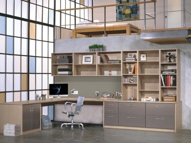 Awe Inspiring Get Home Office Storage From California Closets Largest Home Design Picture Inspirations Pitcheantrous