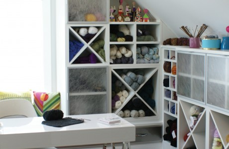Get custom cabinetry finishes at california closets for California closets craft room