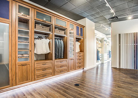 Plano Texas Showroom - California Closets Dallas