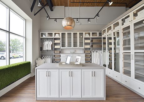 California Closets Castlefield Showroom Interior