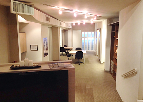 California Closets Upper East Side, NY Showroom Interior