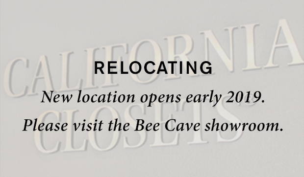 Relocating New location opens early 2019 please visit the bee cave showroom