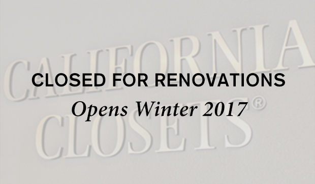 Closed For Renovations Opens Winter 2017