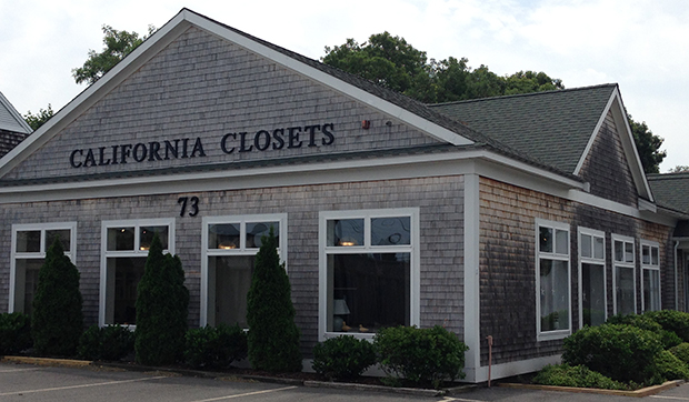 California Closets Hyannis Showroom Exterior