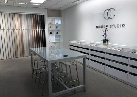 California Closets design studio interior