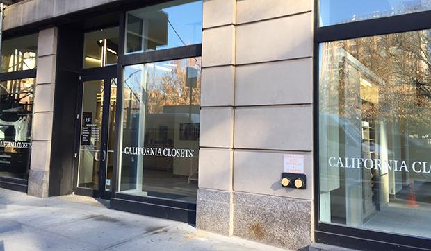 California Closets Tribeca, NY Showroom