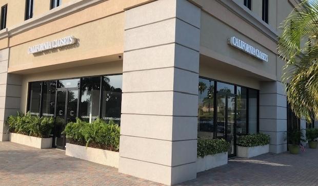 Vera Beach California Closets Showroom exterior