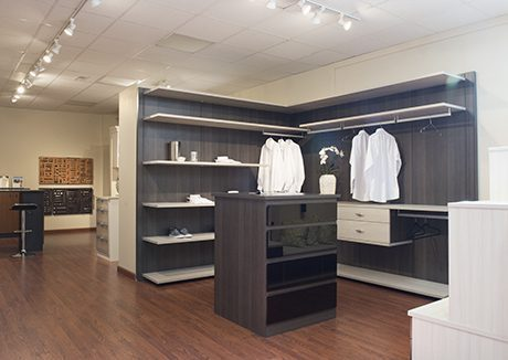 California Closets Wexford Showroom Interior