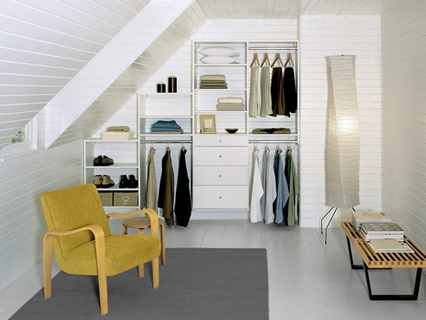 Need organization for small spaces try california closets - Small space closets plan ...