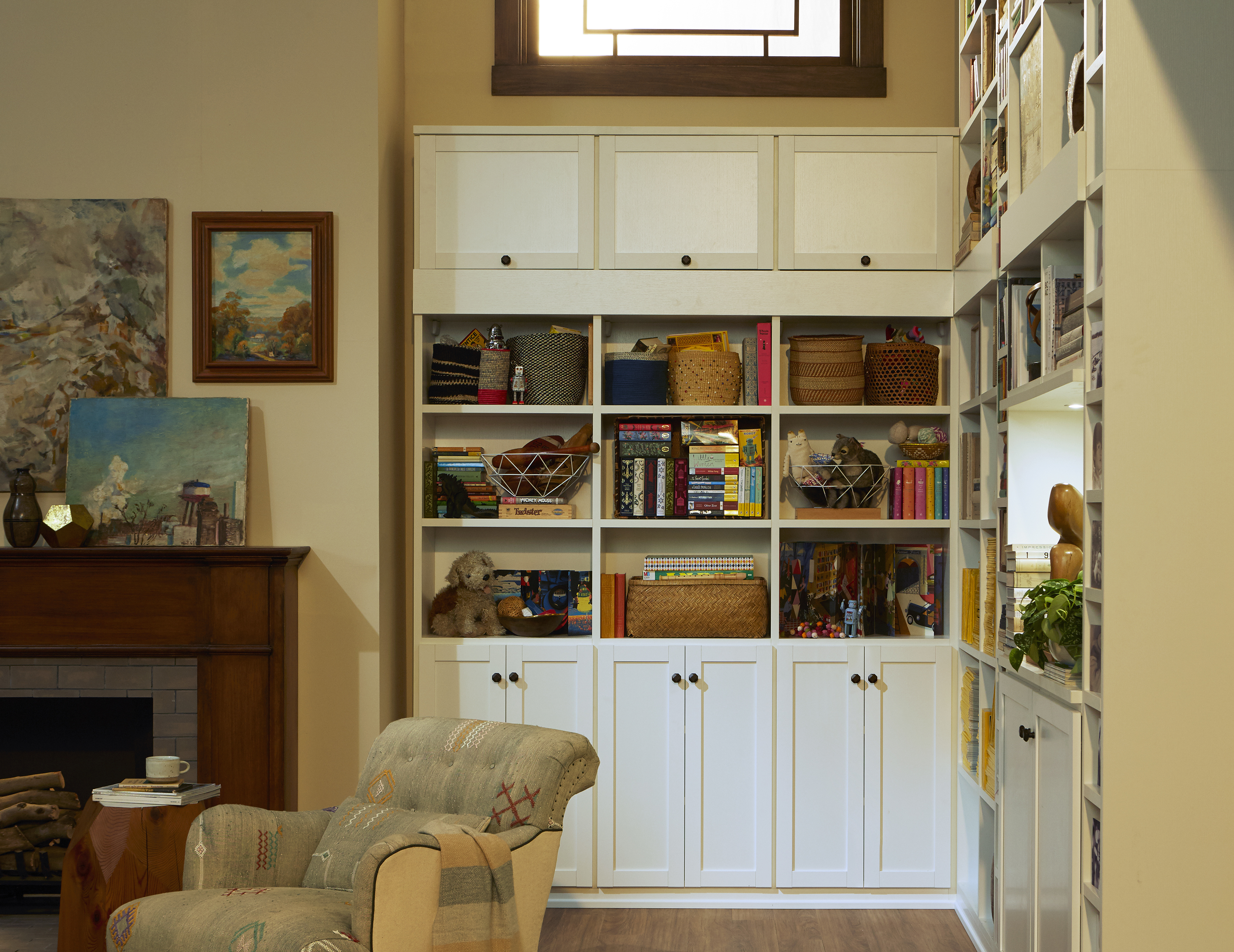 Family Room Cabinets & Storage Solutions | California Closets