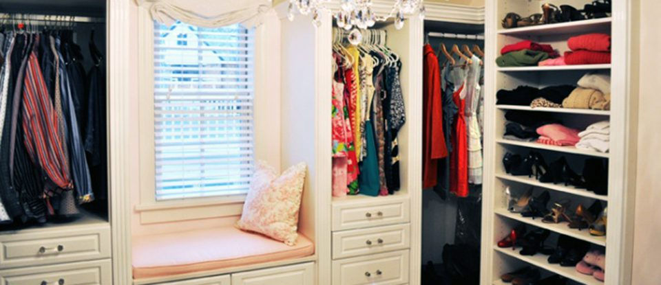 How to Create a Luxurious and Relaxing Boutique Walk-In Closet
