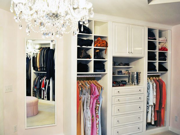 How to create a luxurious and relaxing boutique walk in closet for California closets puerto rico
