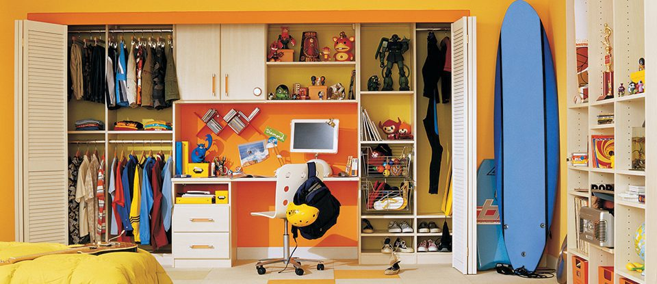From Cradle to College: 9 Tips for Designing a Closet That Will Grow With Your Child