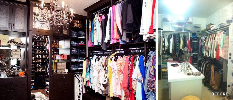 La Transformación de un Vestidor: Donde la Moda se Encuentra con el Glamour Funcional