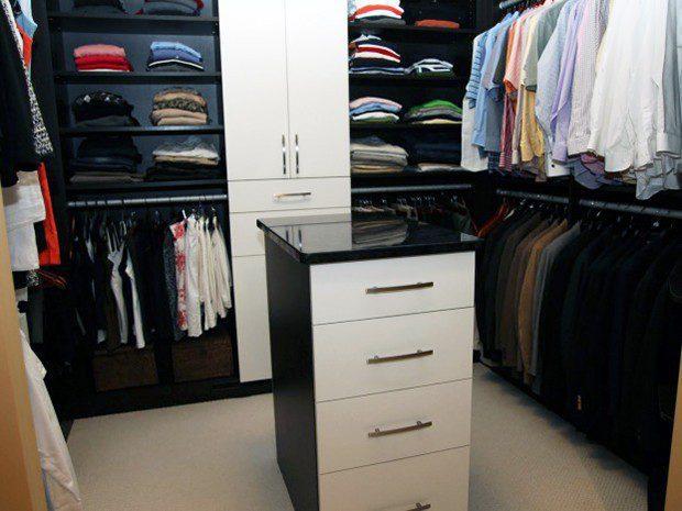 Bedroom Custom Walk-in Closet