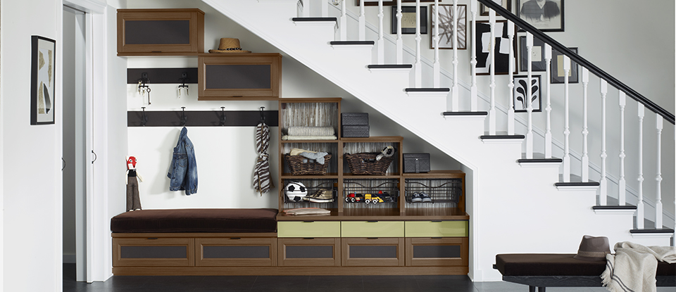 Angling for More Storage in Three Underutilized Spaces
