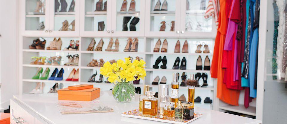 Tiffani Thiessen Cuenta de sus Características Favoritas de sus California Closets