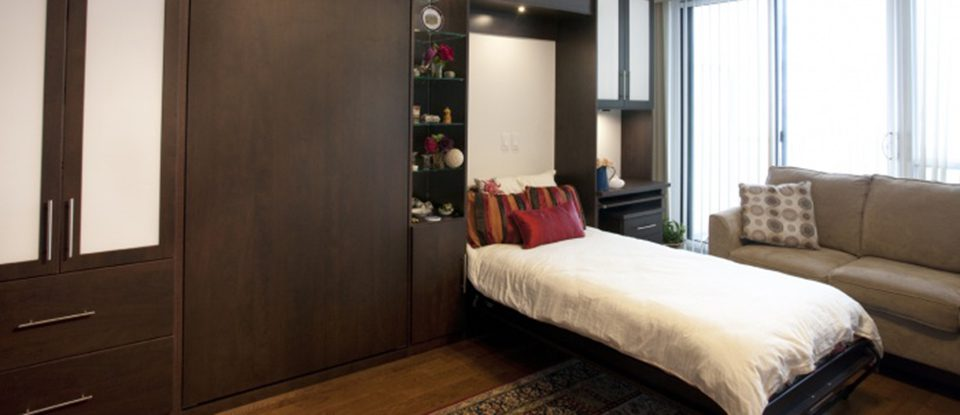 Design Challenge: Saving Space in a University Bachelor Pad with Murphy Beds