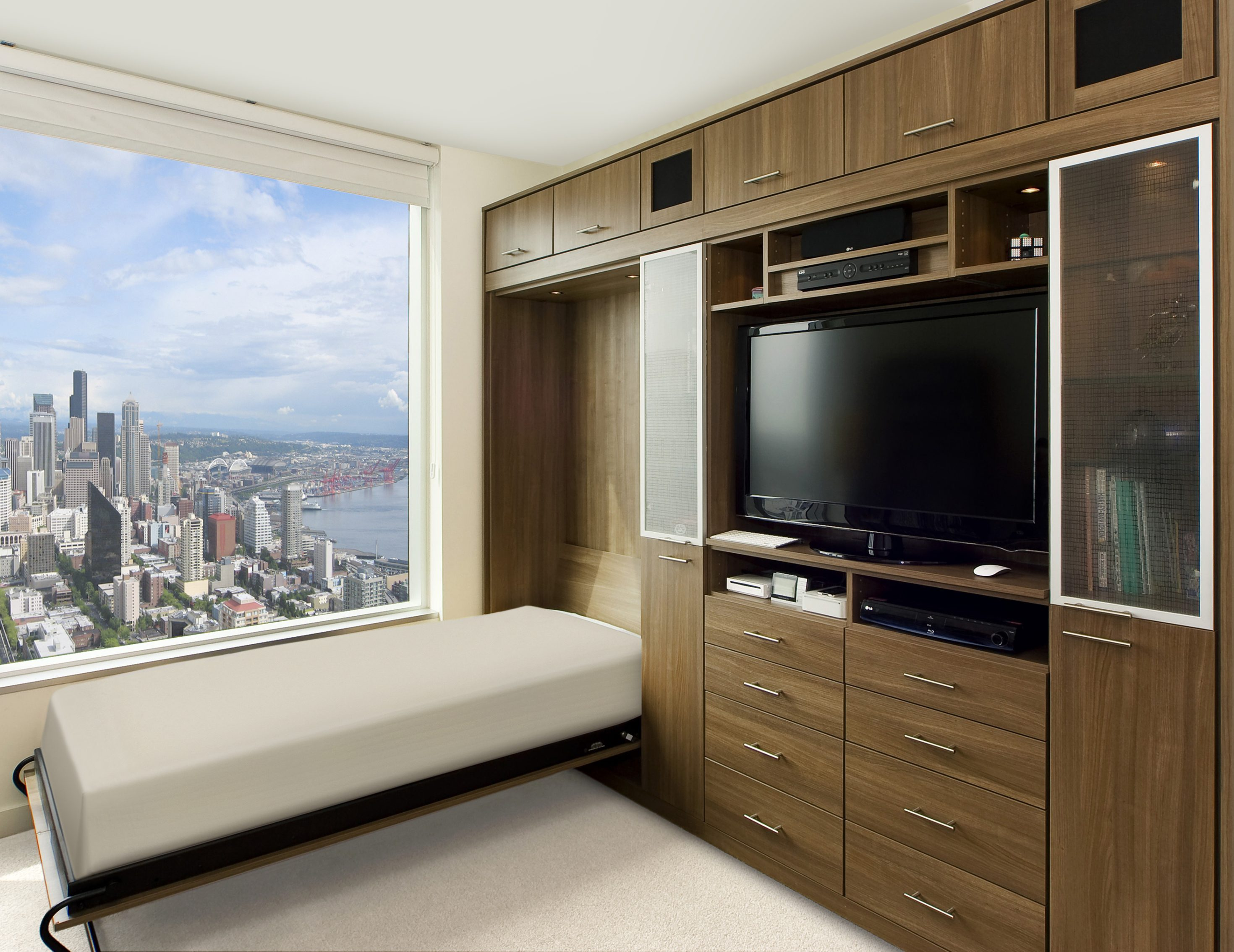 California Closets Boston - Standard-tilt Murphy Bed