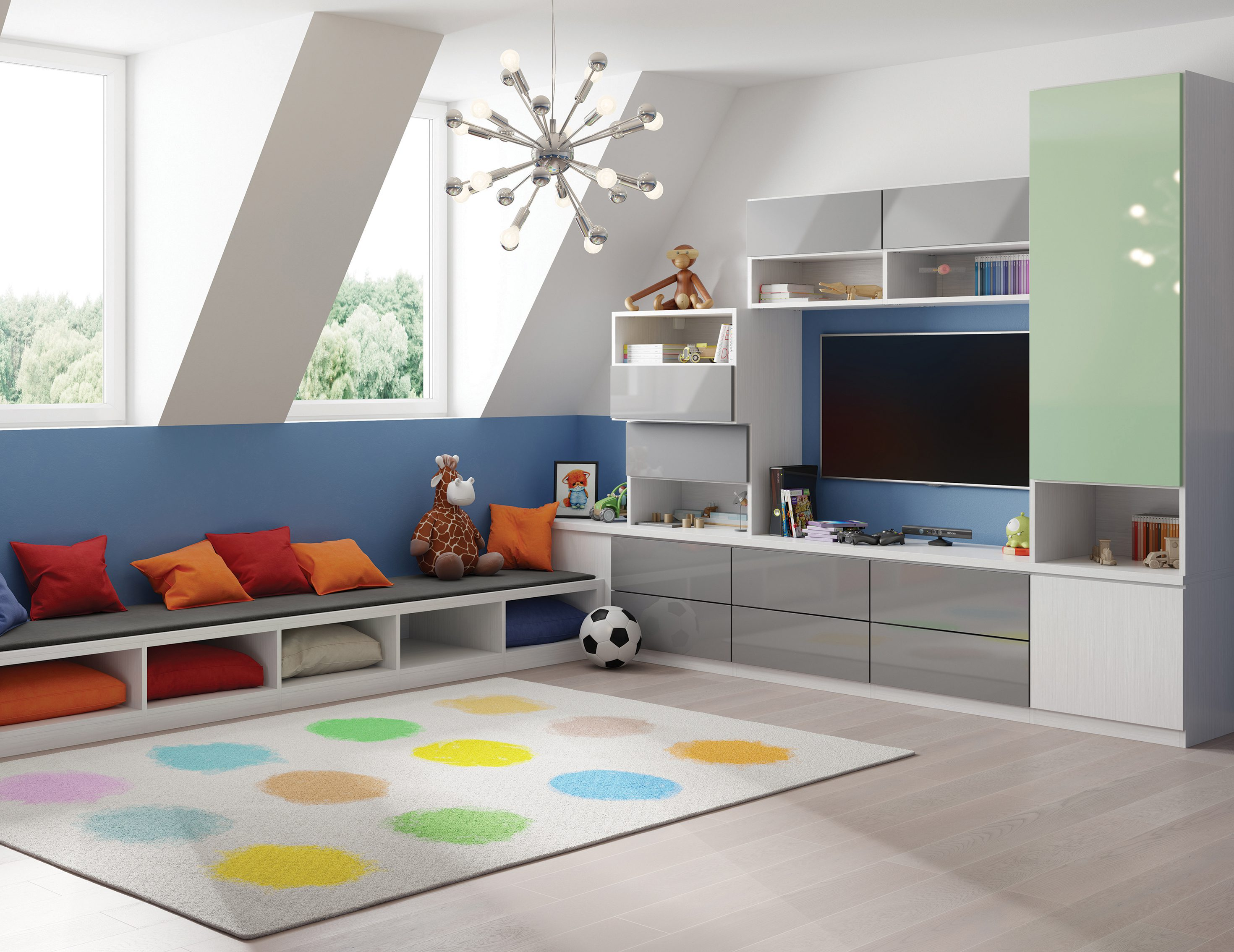 Terrific Family Room Cabinets Storage Solutions California Closets Download Free Architecture Designs Embacsunscenecom