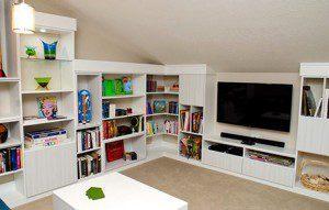 A Creative Storage Solution for a Contemporary Loft