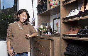 Réaménagement complet des garde-robes de la blogueuse Erica Coffman