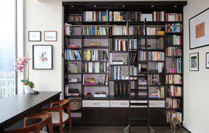 Una biblioteca lujosa – y con múltiples funciones- con vista a la ciudad