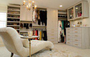 A Luxurious Closet Fit for an Interior Designer